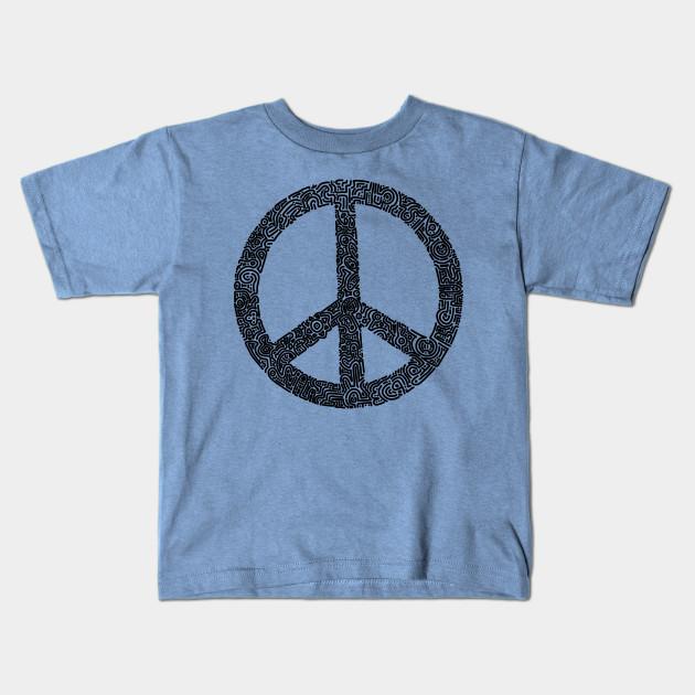 Symbol Peace Sign Peace Kids T Shirt Teepublic