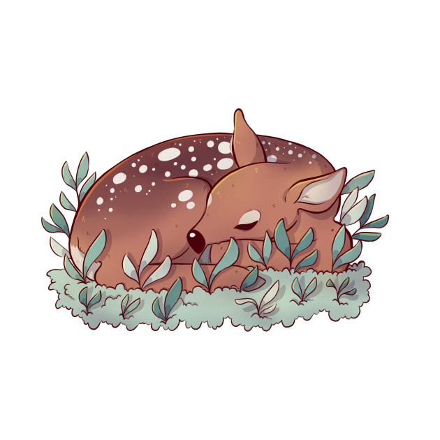 Sleepy Deer