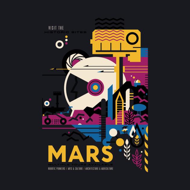 NASA Mars Travel Tour
