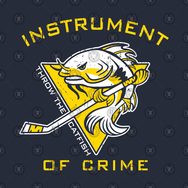 95ec45a1e Instrument of Crime - Nashville Predators - T-Shirt | TeePublic