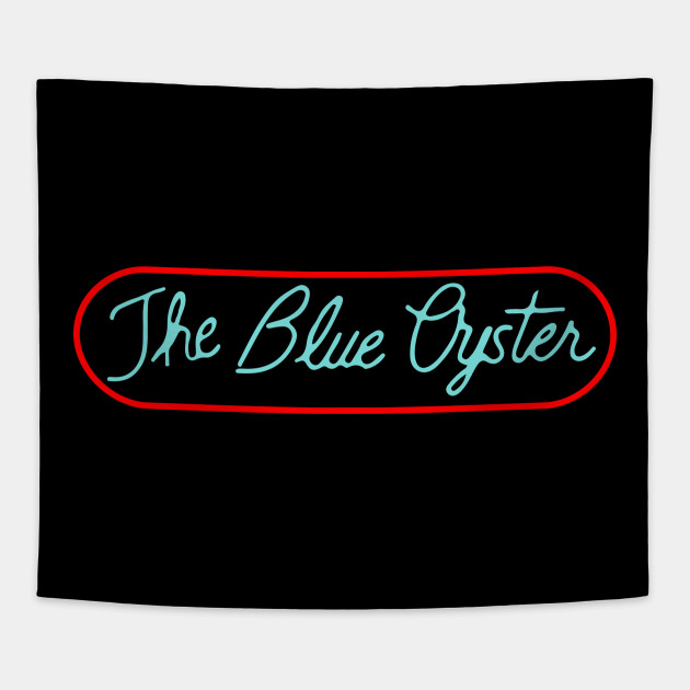 The Blue Oyster Bar gay bar funny Tshirt
