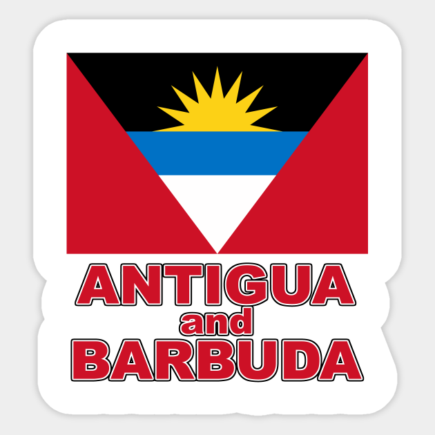 The Pride of Antigua and Barbuda - Antiguan National Flag Design