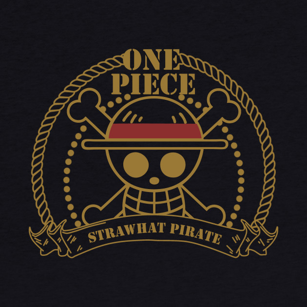 Strawhat Pirate Logo One Piece Anime