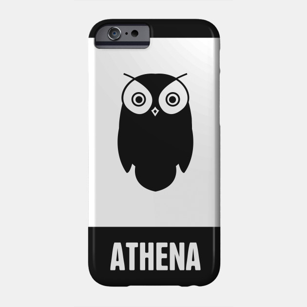 Athena Greek Mythology God Symbol Phone Case Teepublic