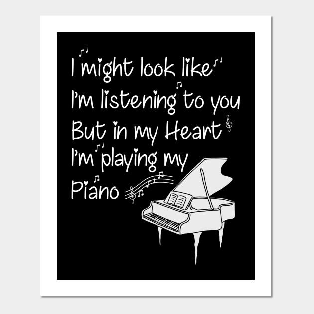 Piano Pianist Instrument Teacher Gift