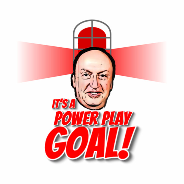 IT'S A POWER PLAY GOAL!
