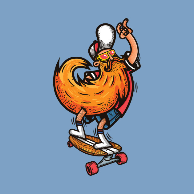 Hipster skater