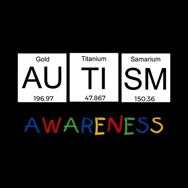 Autism awareness periodic table science tee t shirt autism 2574660 0 urtaz Gallery