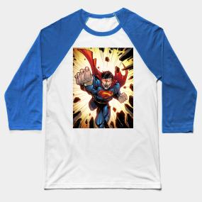 f10ce72d Superman Baseball T-Shirts and DC Comics Fan Art | TeePublic