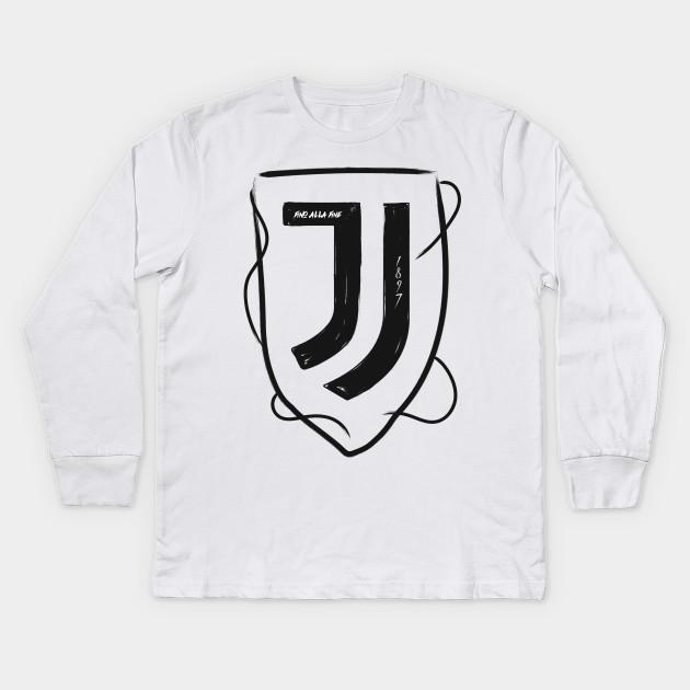 3b8721c1917 Juve - Juventus - Kids Long Sleeve T-Shirt