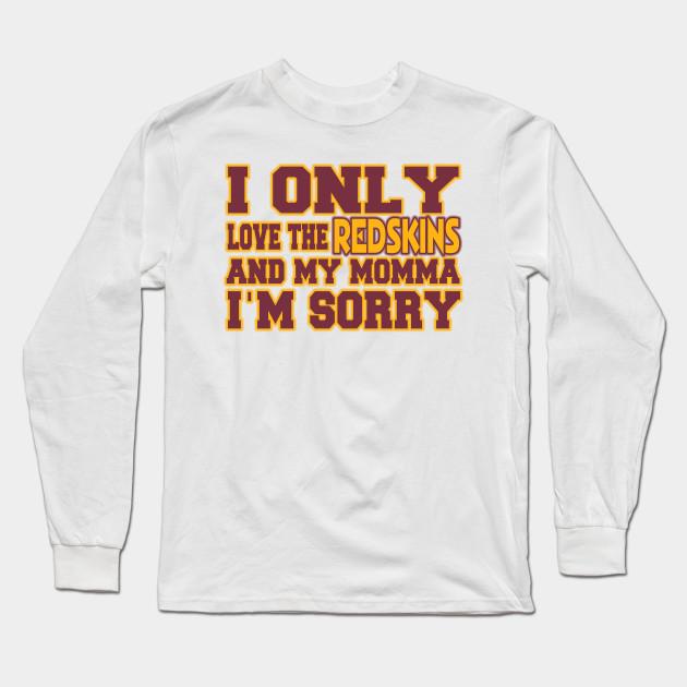 redskins long sleeve t shirt