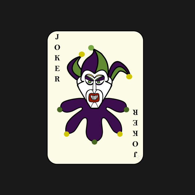 Joker card two towers t shirt teepublic for Home by johker design
