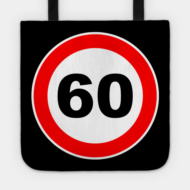 60th Birthday Gift Road Sign retired retirement