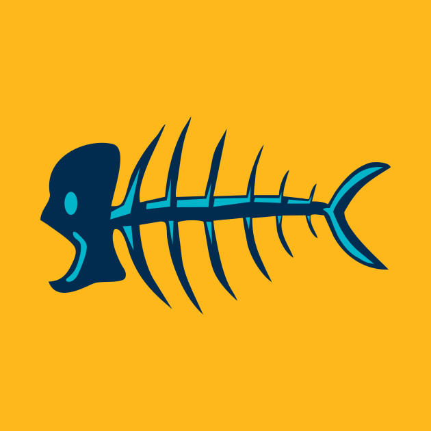 Skeleton fish | Death fish | Fishbone