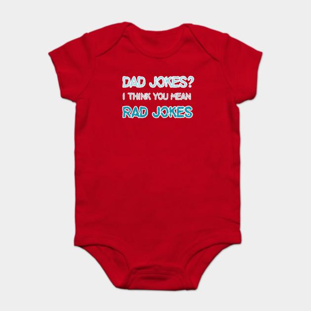 bfec0e82 Dad Jokes - Funny Fathers Day - Dad - Onesie | TeePublic