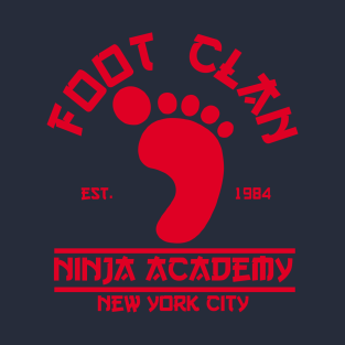 Foot Clan t-shirts