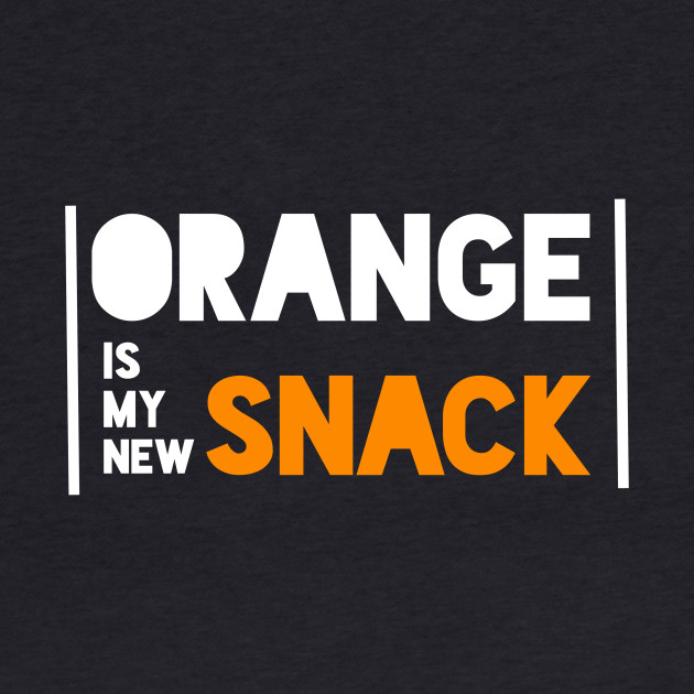 Orange is my new Snack