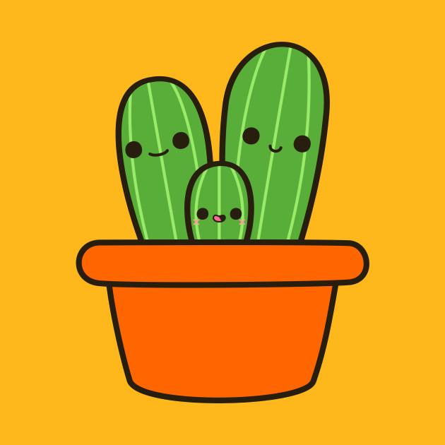 7bd028986e Cute cactus in orange pot - Cactus - Phone Case | TeePublic