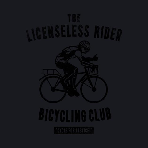 licenseless rider bicycling club