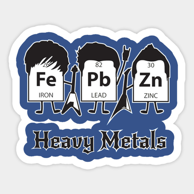 Heavy Metals Periodic Table