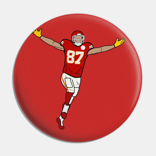 Travis Kelce Touchdown Celebration - Kansas City Chiefs
