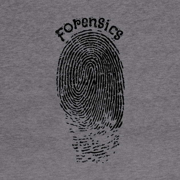 Fingerprint Forensic Police V2 Forensics Hoodie Teepublic