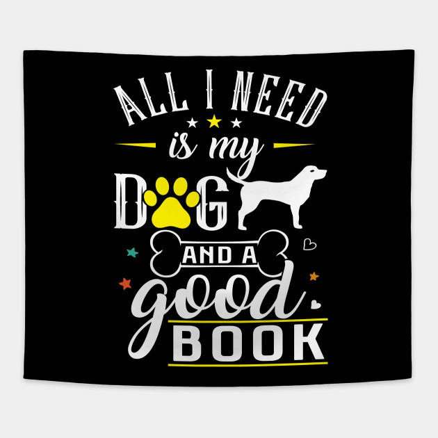 Dog Lovers Book Reading T-Shirt