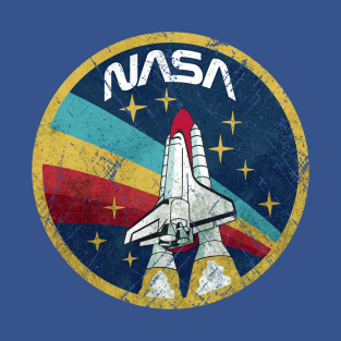 Nasa Vintage Colors V01 t-shirts