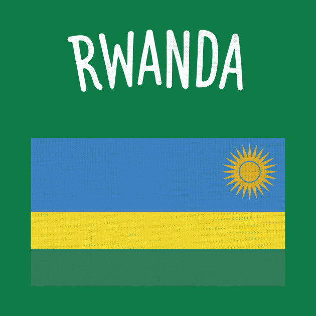 Rwanda Flag Rwanda TShirt TeePublic - Rwanda flag