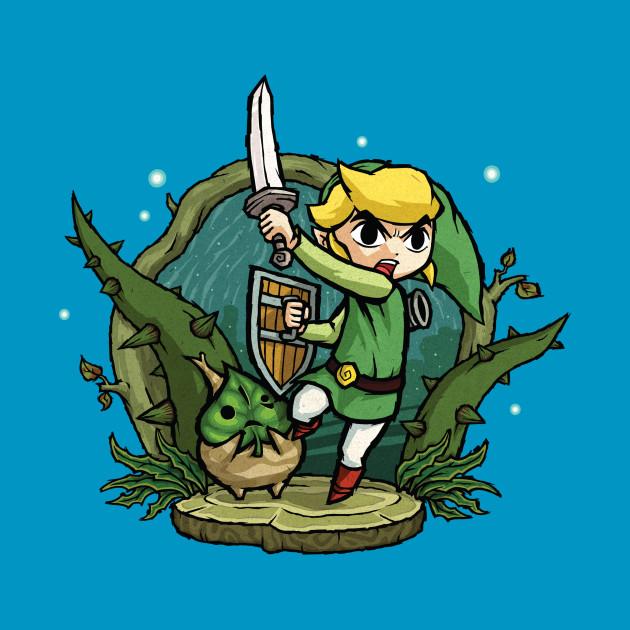 Zelda Wind Waker Forbidden Woods