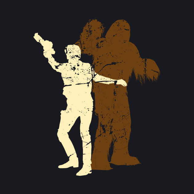 Han Solo & Chewy • Partners In Crime