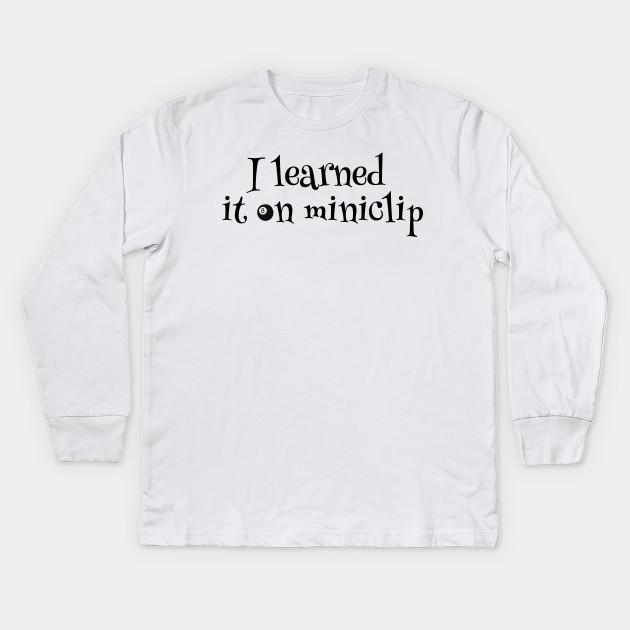f3823f20d0 Cool Billard Pool Sport Funny Miniclip Party Bar T-Shirts Kids Long Sleeve  T-Shirt