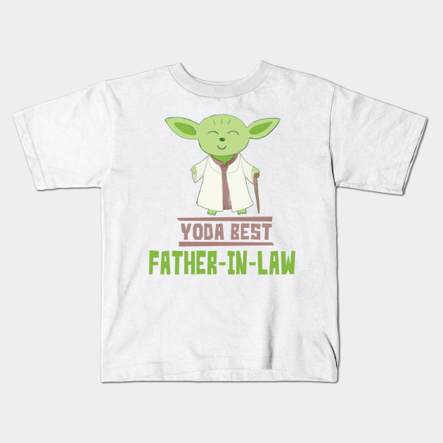 38a136c25 Yoda Best Father-In-Law Funny Gift For Fathers-In-Law - Father In ...