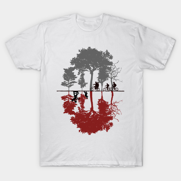 looking for the upside down stranger things t shirt. Black Bedroom Furniture Sets. Home Design Ideas