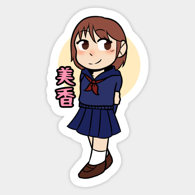 Ao Oni Game Ver Mika Ao Oni Sticker Teepublic