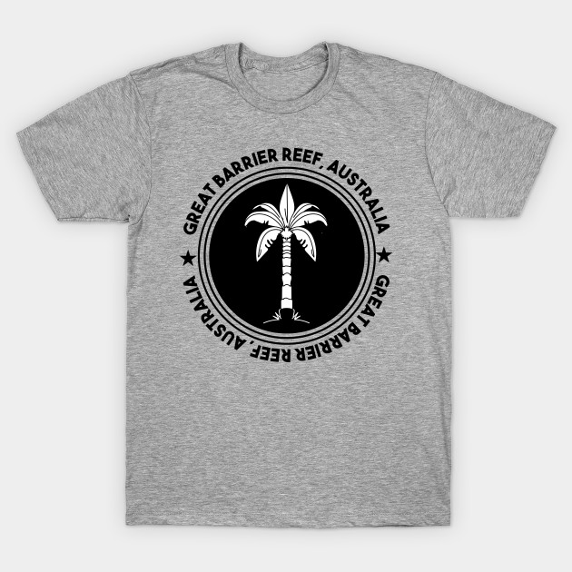 Coral Sea Scuba Logo T-Shirt Black or Gray or White Dive