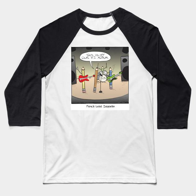 385fe388b Pencil Lead Zeppelin - Led Zeppelin - Baseball T-Shirt | TeePublic