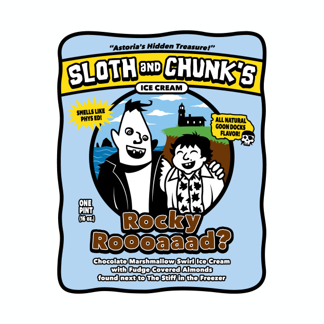 Sloth and Chunk's Ice Cream