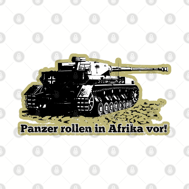 Panzer rollen in Afrika vor!
