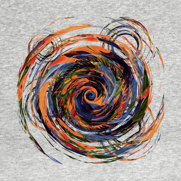 Gravity Color Whirlpool Abstract
