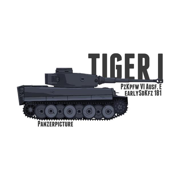 Tiger I Ausf.E Early