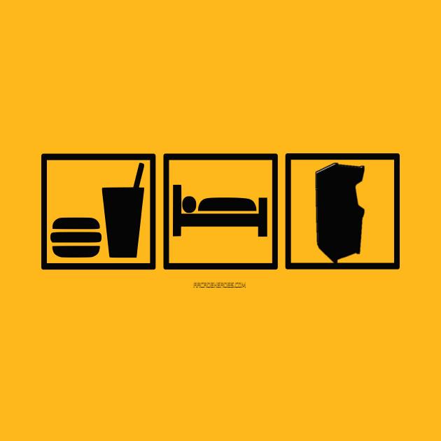 Eat. Sleep. Arcade!