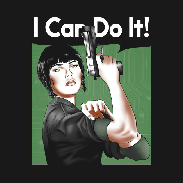 Kusanagi Can Do It T-Shirt