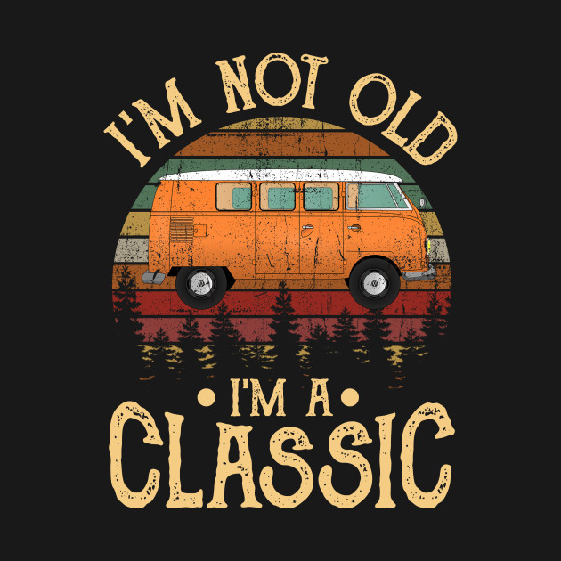 Retro Vintage Car Shirt Classic Lover Gift Style For Men Gifts Ideas