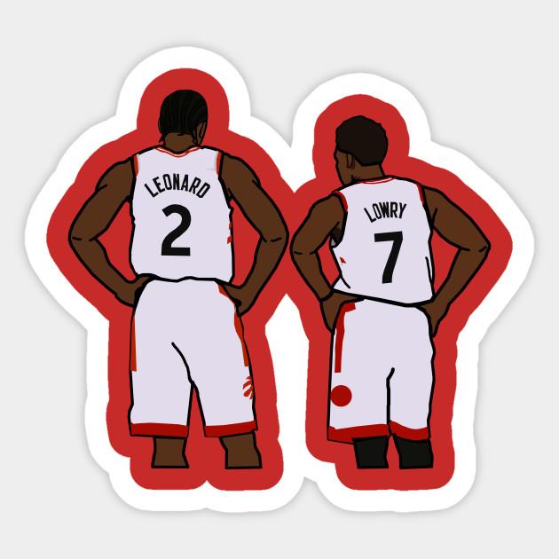 Kawhi Leonard And Kyle Lowry Nba Toronto Raptors