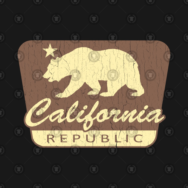 California Republic (vintage park style)