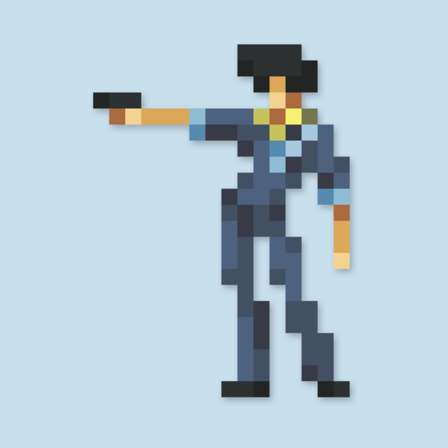 Spike low-res pixelart