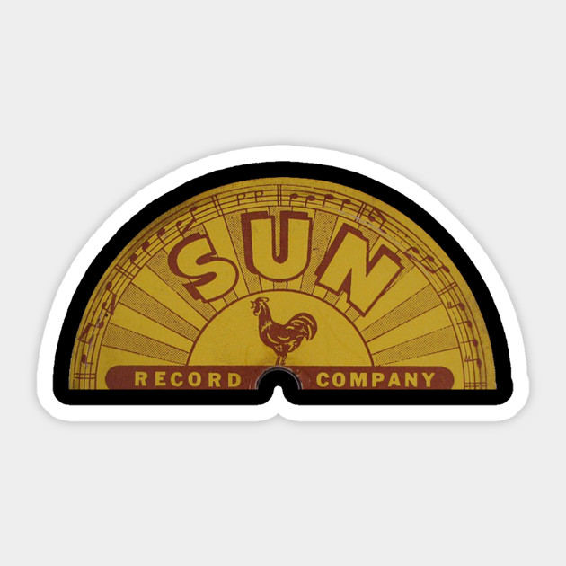 Sun Record Label - Worn