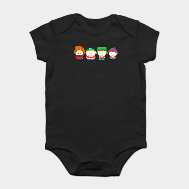 South Park Eric Theodore Cartman Newborn Jumpsuit Baby Romper Bodysuit Clothes
