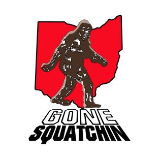 Bigfoot Gone Squatchin (Ohio) t-shirts